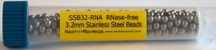 #3ISSSB32-RNA Stainless steel balls, 3.2 mm RNase free, 10 mL