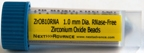 #3ISZROB10-RNA Zirconium oxide beads, ceria stabilized, RNase free 1.0mm , 4 mL