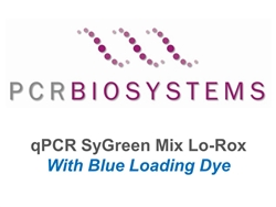 PB20.15-01 PCR Biosystems qPCRBio SyGreen Mix Lo-ROX Blue, SyGreen real-time PCR, [100x20ul rxns] [1x1ml]