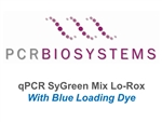 PB20.15-20 PCR Biosystems qPCRBio SyGreen Mix Lo-ROX Blue, SyGreen real-time PCR, [2000x20ul rxns] [20x1ml]
