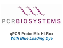 PB20.26-05 PCR Biosystems qPCRBio Probe Mix Hi-ROX Blue, probe based assays-, [500x20ul rxns] [5x1ml]