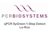 PB25.11-12 PCR Biosystems qPCRBio SyGreen One-Step Detect Lo-ROX, SyGreen qPCR from RNA, [1200x20ul rxns] [12x1ml mix] & [12x200ul RTase]