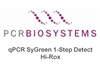 PB25.12-03 PCR Biosystems qPCRBio SyGreen One-Step Detect Hi-ROX, SyGreen qPCR from RNA, [300x20ul rxns] [3x1ml mix] & [3x200ul RTase]