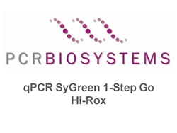 PB25.32-12 PCR Biosystems qPCRBio SyGreen One-Step Go Hi-ROX, SyGreen qPCR from RNA, [1200x20ul rxns][12x1ml mix] & [12x200ul RTase]