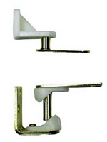S. Parker Hardware 2551, Cafe Door Gravity Pivot Hinge Brass Plated (Box Of 2)