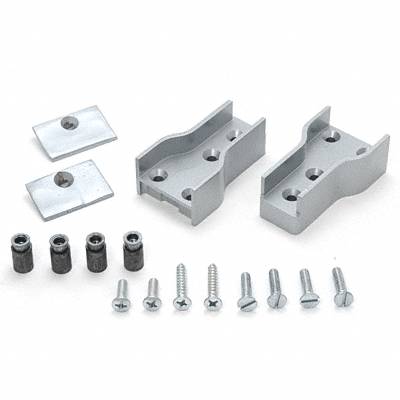 Satin Aluminum Mounting Package For Jackson 896 Removable