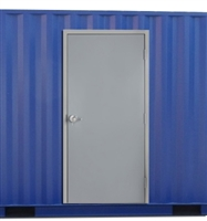 "36"" x 84"" Shipping Container Door"