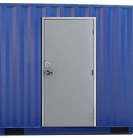 "36"" x 84"" Shipping Container Door and Deadbolt"