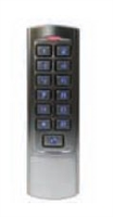 Camden Door Controls Cm-110Sk: 2,000 Users, Slim Line, Surface Mount, (1) Form 'C' Relay 12/24V Dc