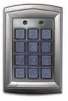 Camden Door Controls Cm-550Sk: 1,000 Users, Surface Mount, (2) Form 'C' Relay 12/24V Dc