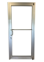 Comanche 3068 LH Storefront Door, Clear Anodized