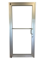 Comanche 3070 RH Storefront Door, Clear Anodized