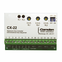 Camden Door Controls Cx-22: Washroom Door Controller And Bi-Directional Door Sequencer