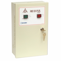 Camden Door Controls Cx-Emf-2Abm: Multi-Function Relay- Abm Metal Cabinet, 2 Control Switches, Same As Cx-Exf-2M But Configured For Abm Vestibules