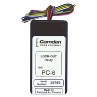 Camden Door Controls Cx-Pc-6: Lock Out / Secondary Activation Module Relay