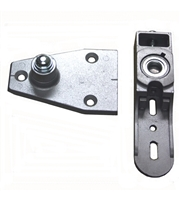 "Cougar / Lion Storefront Aluminum Door Concealed Closer ""G"" Heavy Duty Floor Bottom Pivot Set"