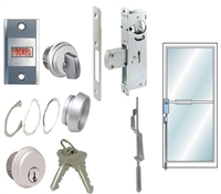 Tahoma Storefront Aluminum Door 2 Point Lock System (Specify Options)