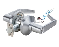 "DC USA Approved Grade 1 Extra Heavy Duty (Over 3 Million Cycle Tested) Electrified Commercial Storeroom Cylindrical Door Lock With 2-3/4"" Backset (Choose Options)"