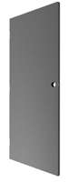 "DC USA Approved Amweld Style Replacement 3'-0"" x 8'-0"" (36"" x 96"") Commercial 18 Gauge Galvannealed Hollow Metal Door With Insulated Polystyrene Core, 161 Lock Prep, Closer and Hinge Reinforcement, 3 Hour Fire Rated"