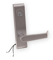 DC USA Approved ET15CVR Electrified Storeroom Trim With Key Override, 6 Pin C Keyway Mortise Cylinder, For PD15-M-CVR, Jackson 1285 and Kawneer 1686 Exit Devices