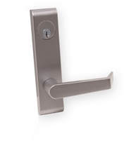DC USA Approved ET16-RIM Mechanical Entrance Trim, 6 Pin C Keyway Mortise Cylinder, For PD16-RIM, Jackson 1295 and Kawneer 1786 Exit Devices