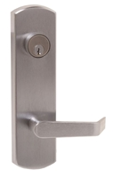 DC USA Approved ET26 ELT Mechanical Entrance Lever Trim, 6 Pin C Keyway Mortise Cylinder, For PD26, Cal Royal 7700 and Von Duprin 98/99 Exit Devices