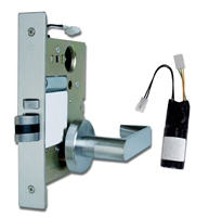 DC USA Approved LPM110EU Electric Pullback Latch Passage Mortise Leverset (Schlage L Series Replica)