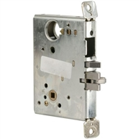 DC USA Approved ML1053 Mechanical Entrance With Deadbolt Mortise Lock Chassis Only (Schlage L9000 Replica)