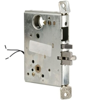 DC USA Approved ML1482 Electrified Solenoid Institutional With Deadbolt Mortise Lock Chassis Only (Schlage L9000 Replica)