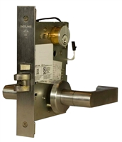 DC USA Approved ML482 Electrified Solenoid Institutional With Deadbolt Mortise Lock (Schlage L9000 Series Replica)