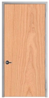 "Lakota Plain Sliced Cherry Commercial Wood Door and Frame 4'-0"" x 8'-0"" (48"" x 96""), 1-3/4"" Solid Core Door with Steel Frame, Hinges and Lockset, Made In USA (Specify Options)"