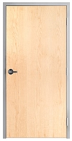 "Lakota Plain Sliced White Maple Commercial Wood Door and Frame 3'-0"" x 7'-0"" (36"" x 84""), 1-3/4"" Solid Core Door with Steel Frame, Hinges and Lockset, Made In USA (Specify Options)"