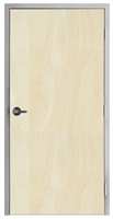 "Lakota Rotary White Birch Commercial Wood Door and Frame 3'-0"" x 7'-0"" (36"" x 84""), 1-3/4"" Solid Core Door with Steel Frame, Hinges and Lockset, Made In USA (Specify Options)"
