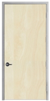 "Lakota Rotary White Birch Commercial Wood Door and Frame 3'-0"" x 8'-0"" (36"" x 96""), 1-3/4"" Solid Core Door with Steel Frame, Hinges and Lockset, Made In USA (Specify Options)"