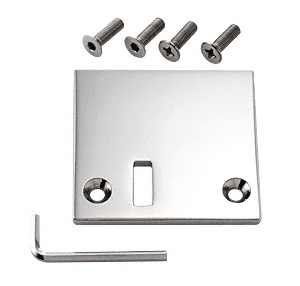 Polished Chrome Pinnacle Stop Plate For Rps