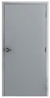"42"" x 84"" Hollow Metal Door, Drywall Frame, Cylindrical Lock"