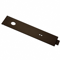Dorma® Dark Bronze RTS Series Overhead Concealed Closer Cover Plate