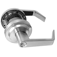 S. Parker Hardware Sl7160A26Dkw Dull Chrome Key #W Grade 2 Lever Entry
