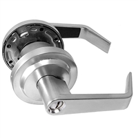 S. Parker Hardware Sl7160P26D Dull Chrome Grade 2 Lever Privacy