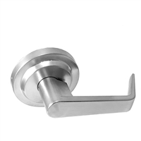 S. Parker Hardware Sl7160Y26 Polished Chrome Grade 2 Lever Dummy
