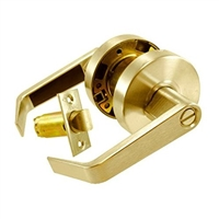 S. Parker Hardware Sl8160P03 Polished Brass Grade 2 Privacy Lock