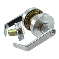 S. Parker Hardware Sl8160Tc26D Dull Chrome Grade 2 Twin Connecting Lever