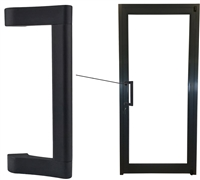 Storefront ADA Heavy Duty Dark Bronze Pull Handle