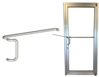 Storefront ADA Pull Handle & Push Bar