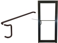 ADA Dark Bronze Pull Handle & Push Bar