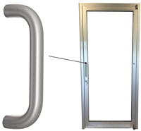 Storefront Door ADA Straight Pull Handle