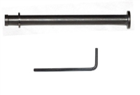 CENTENNIAL DEFENSE SYSTEMS BLACK Coated Stainless Steel Guide Rod With Black Screw Head For GLOCK 17, 19, 20 Gen 1-3