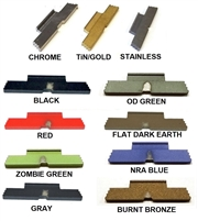 CENTENNIAL DEFENSE SYSTEMS Extended Stainless Steel Slide Lock Lever For Glock 42 43 43X 48