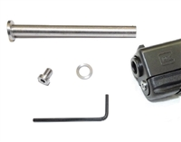 CENTENNIAL DEFENSE SYSTEMS Stainless Steel Guide Rod With Stainless Steel Screw Head For Glock 17, 19, 20  Gen 1-3