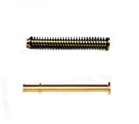 CENTENNIAL DEFENSE SYSTEMS TiN Coated Stainless Steel Guide Rod Assembly With TiN Screw Head For SMITH & WESSON M&P FULL SIZE 9mm 40 357Sig